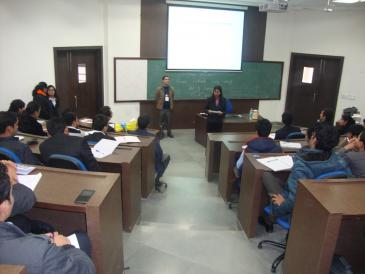 Seminar in IMT Ghaziabad.