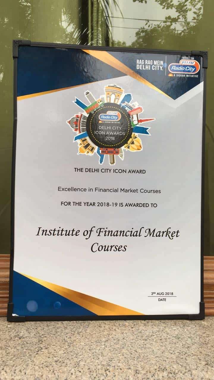 Institute of Financial Market Courses (IFMC) Awarded with Honour of Excellence 2018