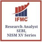 Research Analyst SEBI, NISM XV Series