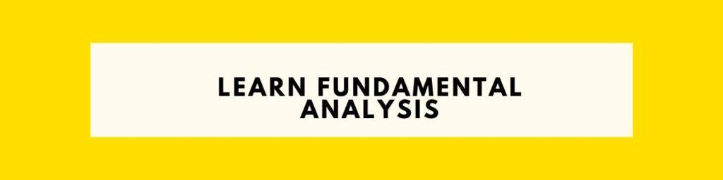 Fundamental Analysis of Stocks For Newbies