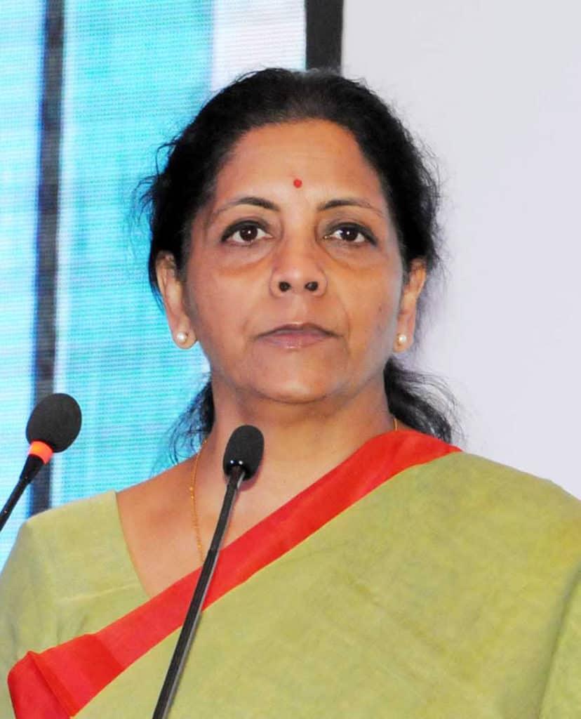 Nirmala Sitharaman finance minister
